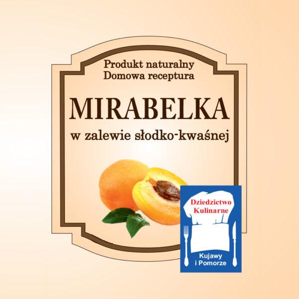 Mirabelka w zalewie słodko-kwaśnej
