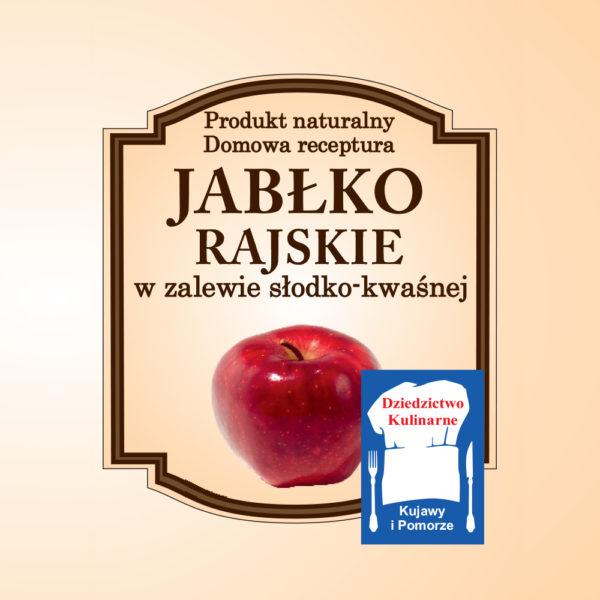 Jabłko Rajskie w zalewie słodko-kwaśnej